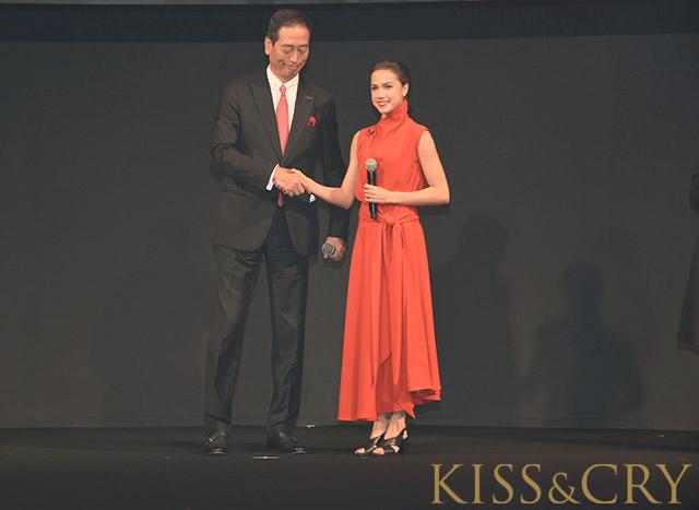 KISS&CRY/アリーナ・ザギトワ「SHISEIDO」グローバルアンバサダー