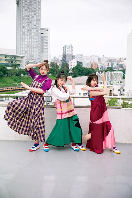 「B.L.T. 8月号」富田鈴花&松田好花&渡邉美穂