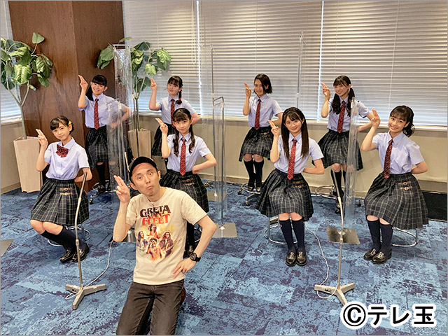 テレ玉「ドレコレ×HOT WAVE」さくら学院