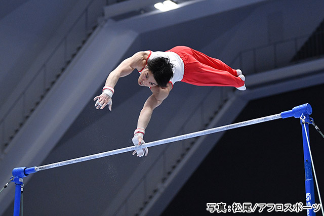 「体操/内村航平」写真:松尾/アフロスポーツ