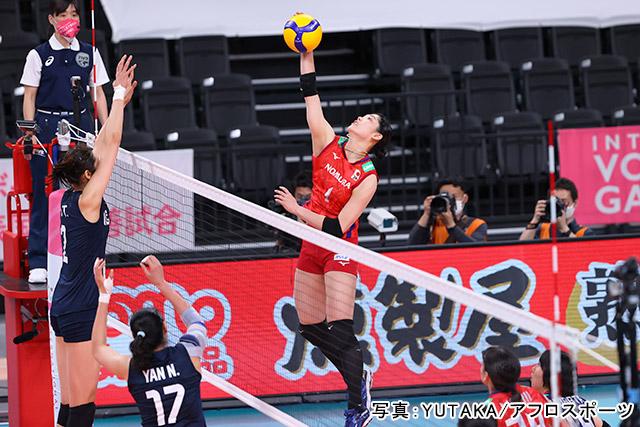 「バレーボール」写真:YUTAKA/アフロスポーツ