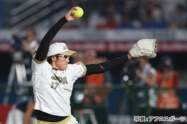 「ソフトボール/上野由岐子」写真:アフロスポーツ