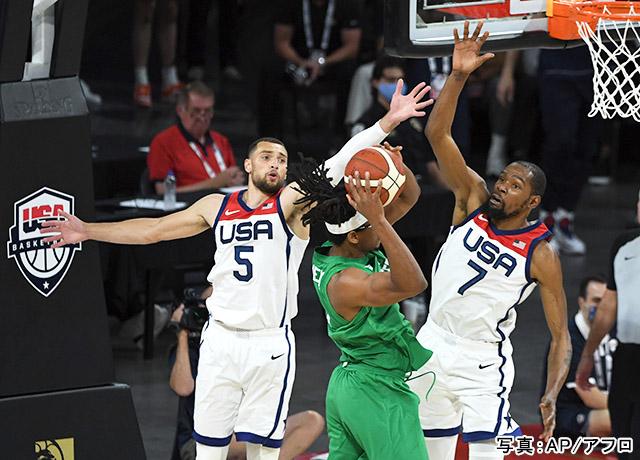 「バスケットボール」写真:AP/アフロ
