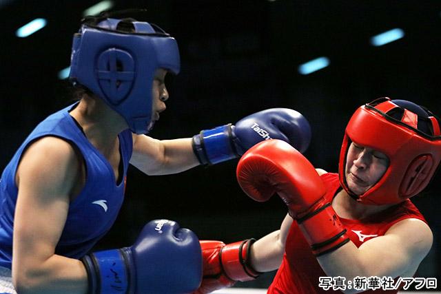 「ボクシング」写真:新華社/アフロ