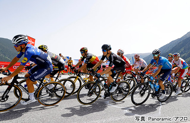 自転車・ロード(ツール・ド・フランス) 写真:Panoramic/アフロ