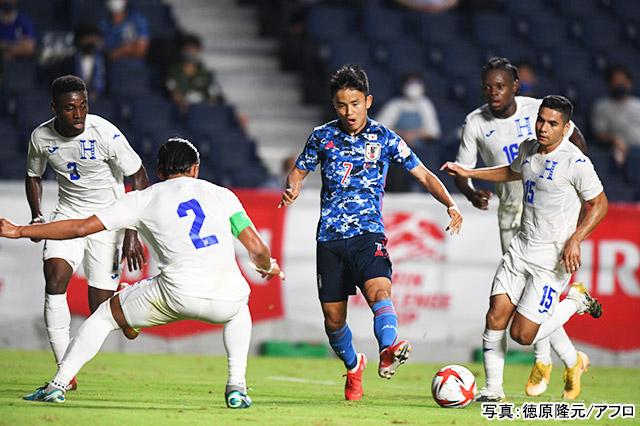 サッカー(久保建英)写真:徳原隆元/アフロ
