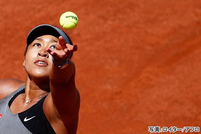 テニス(大坂なおみ)写真:ロイター/アフロ