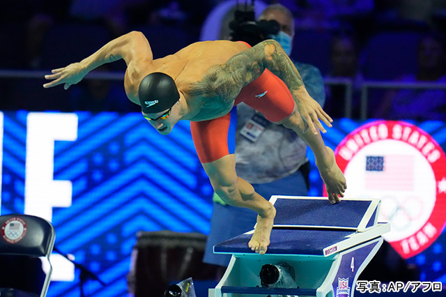 競泳 写真:AP/アフロ