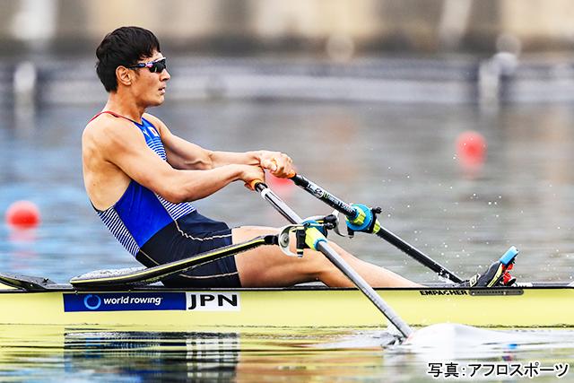 ボート(荒川龍太)写真:アフロスポーツ