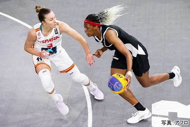 バスケットボール 3x3 写真:アフロ