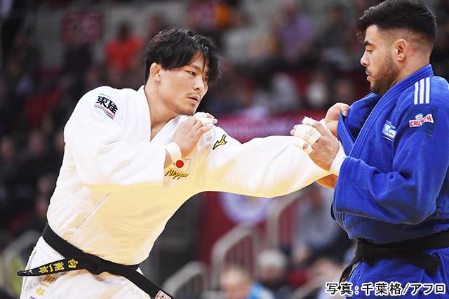 東京2020オリンピック 柔道・男子 90kg級(向翔一郎)写真:千葉格/アフロ