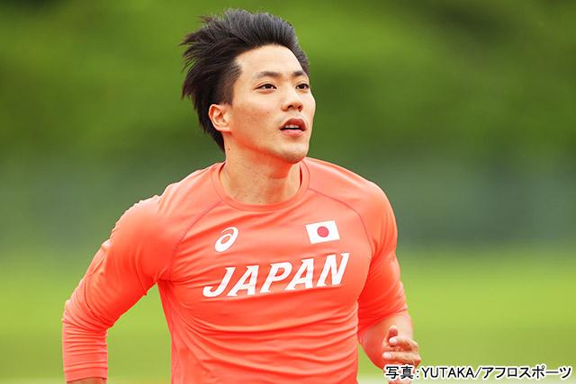 東京2020オリンピック 陸上(山縣亮太)写真:YUTAKA/アフロスポーツ