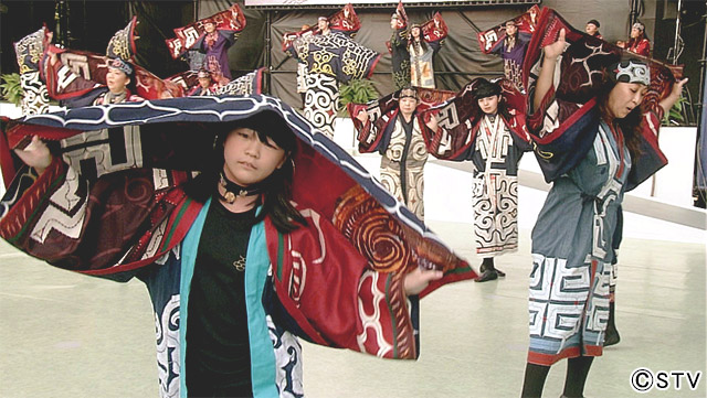 STV札幌テレビ放送「世界に届け!アイヌ舞踊」
