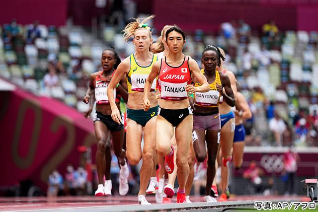 東京2020オリンピック 陸上(田中希実)写真:AP/アフロ