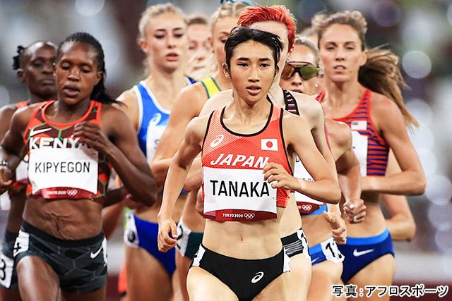 東京2020オリンピック 陸上(田中希実)写真:アフロスポーツ