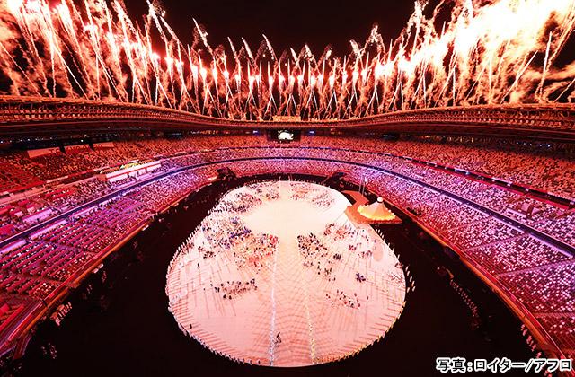 東京2020オリンピック 写真:ロイター/アフロ