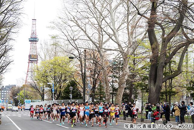 マラソン 写真:代表撮影/ロイター/アフロ