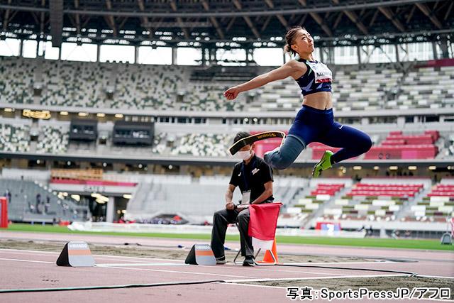 パラ陸上(中西麻耶)写真:SportsPressJP/アフロ