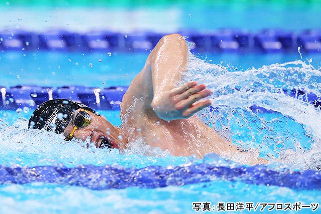 東京2020パラリンピック 競泳(東海林大)写真:長田洋平/アフロスポーツ