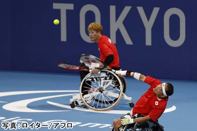 2020 東京パラリンピック 車椅子テニス クアードダブルス 準決勝