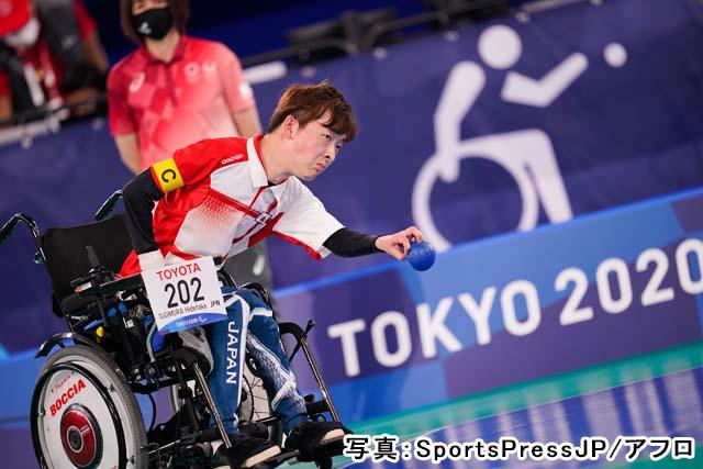 2020 東京パラリンピック ボッチャ 混合チーム BC1/BC2 予選(杉村英孝)