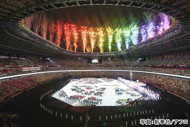 東京2020パラリンピック 写真:新華社/アフロ