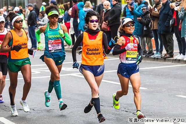 パラマラソン(道下美里)写真:Steve Vidler/アフロ