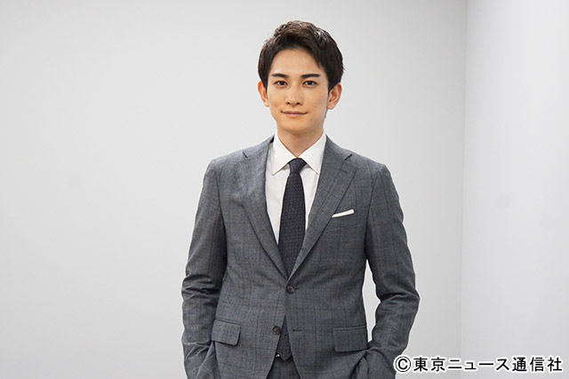 TVGwebスペシャルインタビュー/町田啓太(「青天を衝け」土方歳三役)